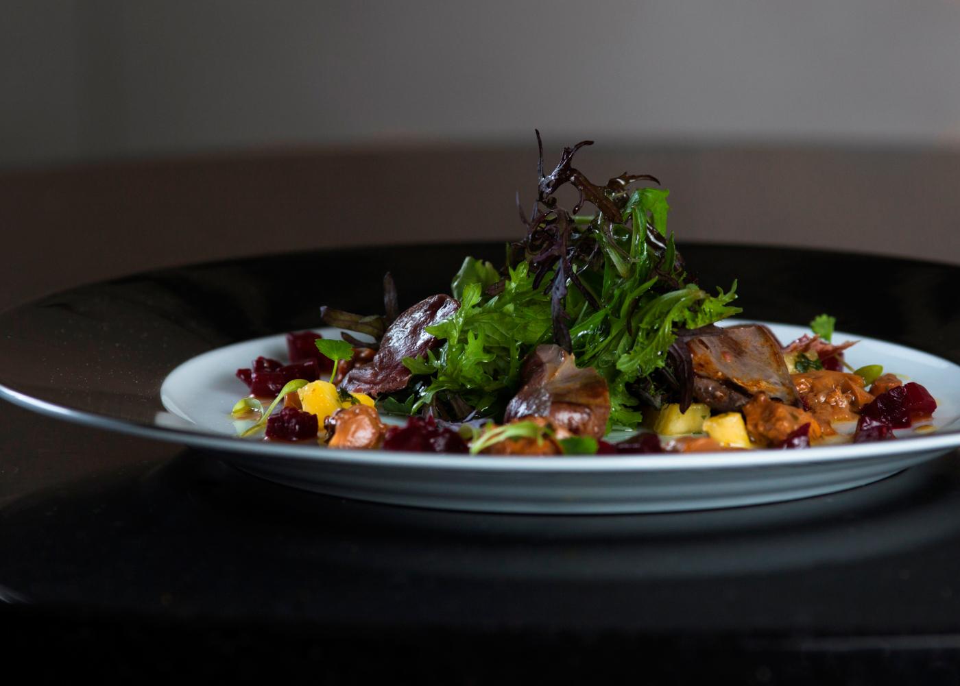 Warm Pigeon Salad
