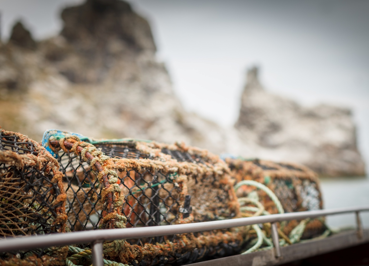 We sponsor our own local lobster pots