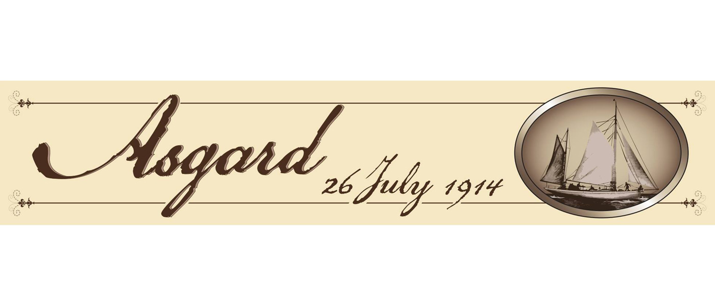 Asgard 100 year anniversary in Howth