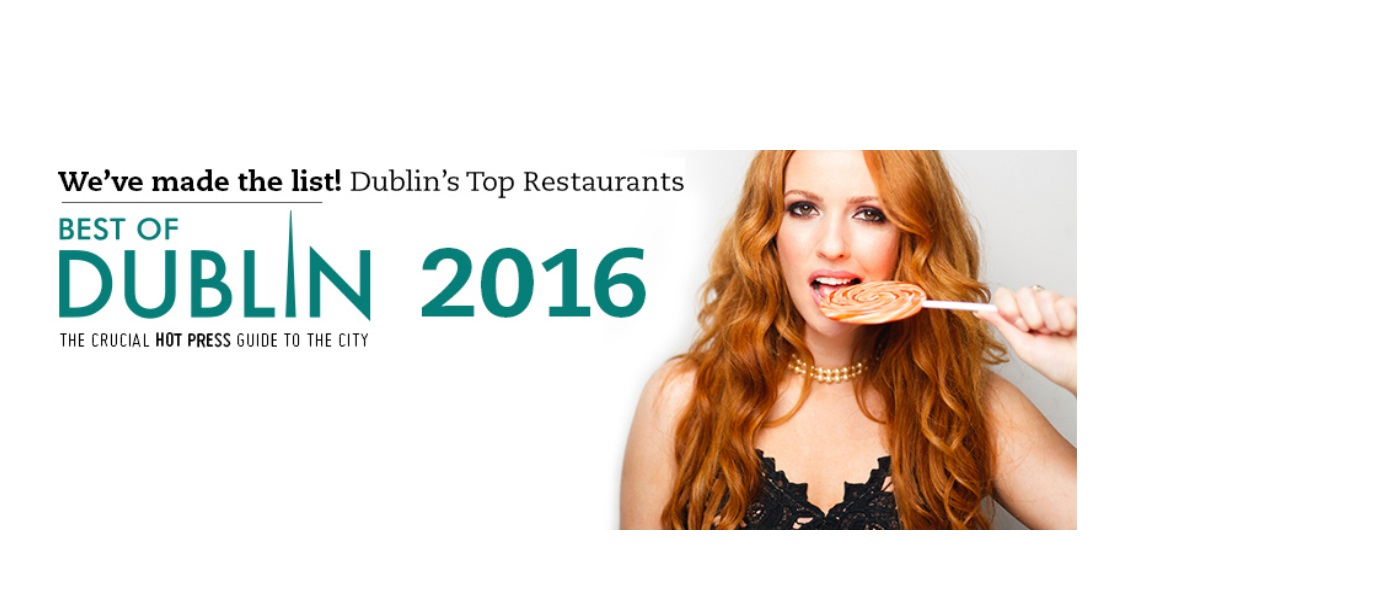 #BestOfDublin, Named in Hot Press 2016