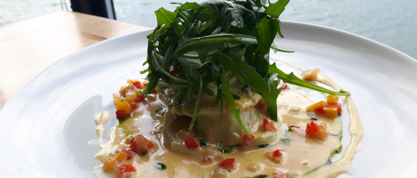 Recipe : Lobster and Brown Crab Ravioli